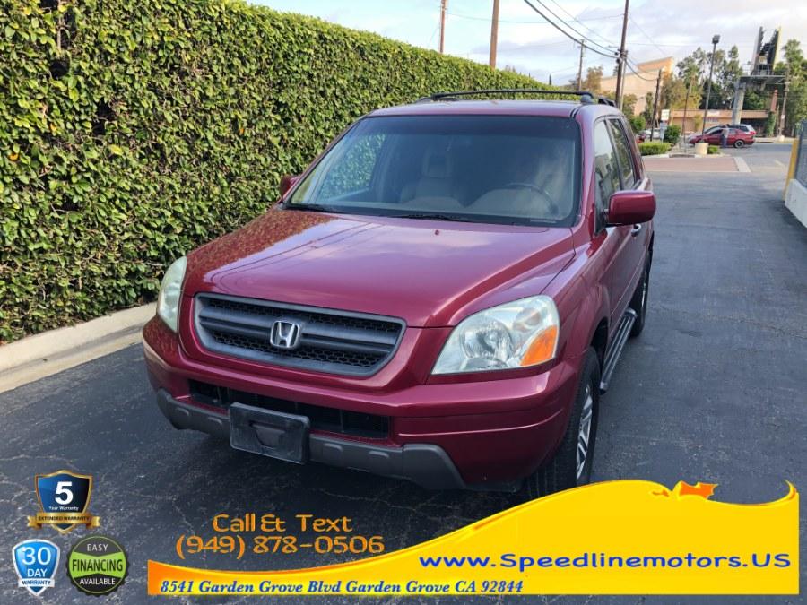 Used Honda Pilot 4WD EX Auto w/Leather 2004 | Speedline Motors. Garden Grove, California