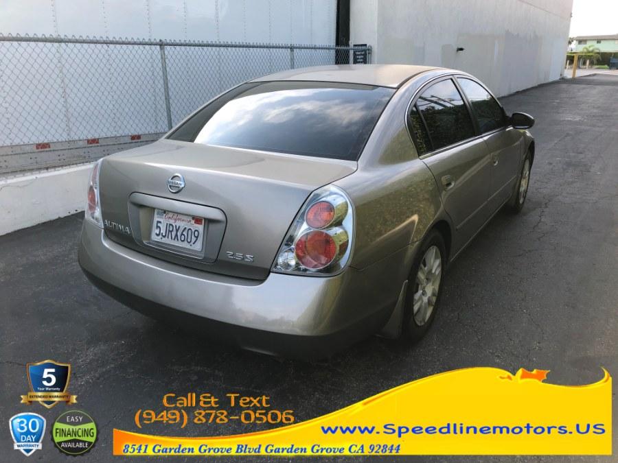 Used Nissan Altima 4dr Sdn I4 Auto 2.5 S PZEV 2005   Speedline Motors. Garden Grove, California