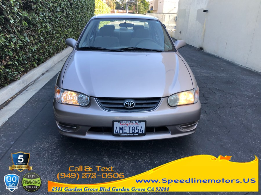 Used Toyota Corolla 4dr Sdn LE Auto 2001   Speedline Motors. Garden Grove, California