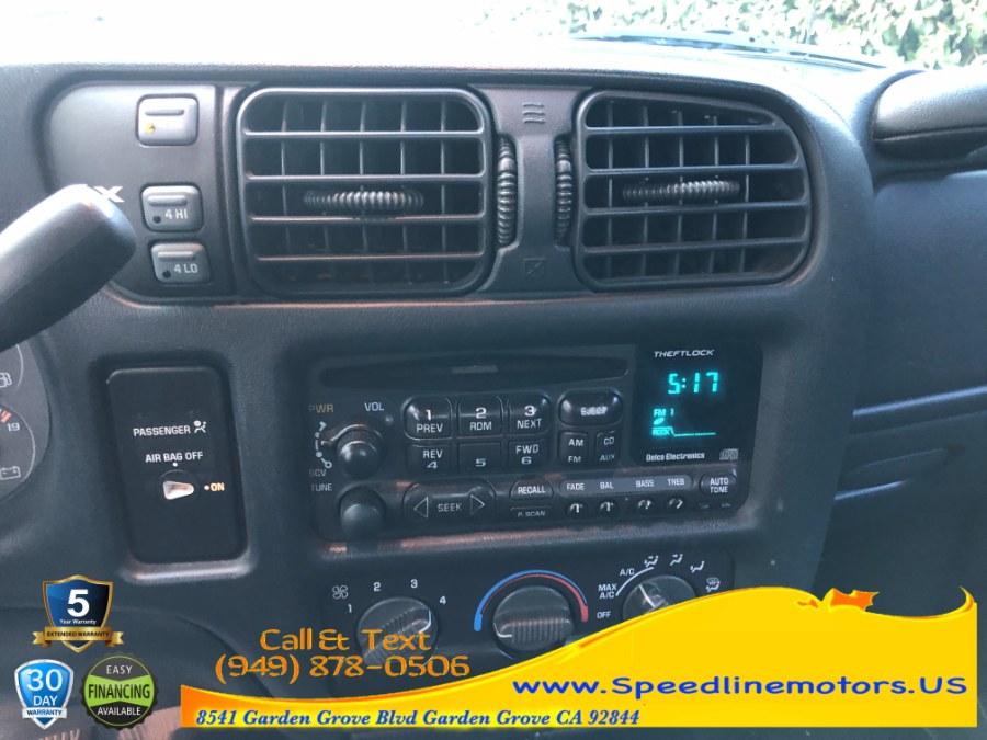 "Used GMC Sonoma Ext Cab 123"" WB 4WD SLS w/1SH Pkg 2000 | Speedline Motors. Garden Grove, California"
