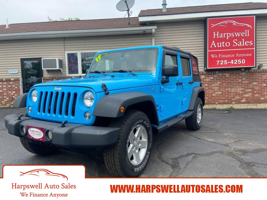Used Jeep Wrangler Unlimited Sport 4x4 2017 | Harpswell Auto Sales Inc. Harpswell, Maine
