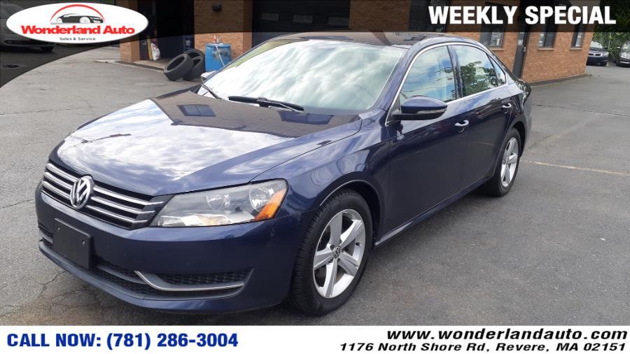 Used 2012 Volkswagen Passat in Revere, Massachusetts | Wonderland Auto. Revere, Massachusetts