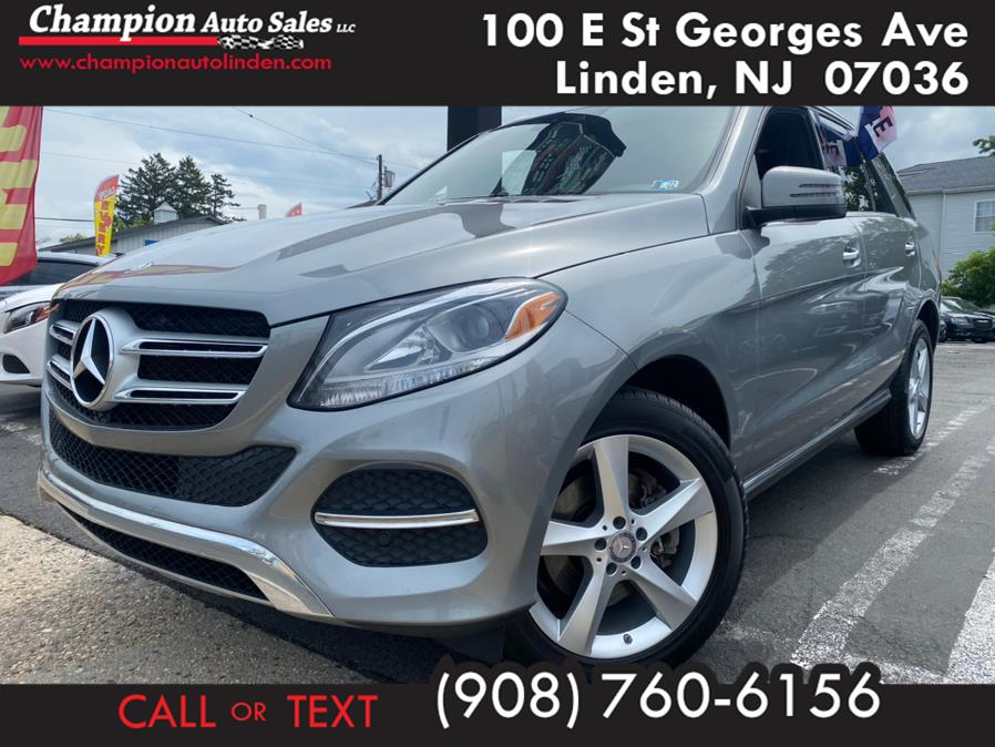 Used 2016 Mercedes-Benz GLE in Linden, New Jersey | Champion Used Auto Sales. Linden, New Jersey