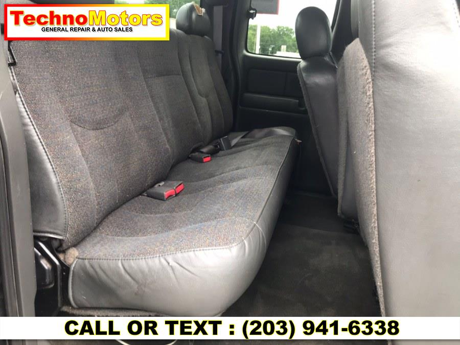 "Used Chevrolet Silverado 2500HD Ext Cab 143.5"" WB 4WD LS 2003 | Techno Motors . Danbury , Connecticut"