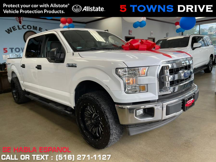 Used Ford F-150 XL 2WD SuperCrew 5.5'' Box 2017 | 5 Towns Drive. Inwood, New York