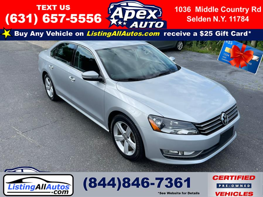 Used 2015 Volkswagen Passat in Patchogue, New York   www.ListingAllAutos.com. Patchogue, New York