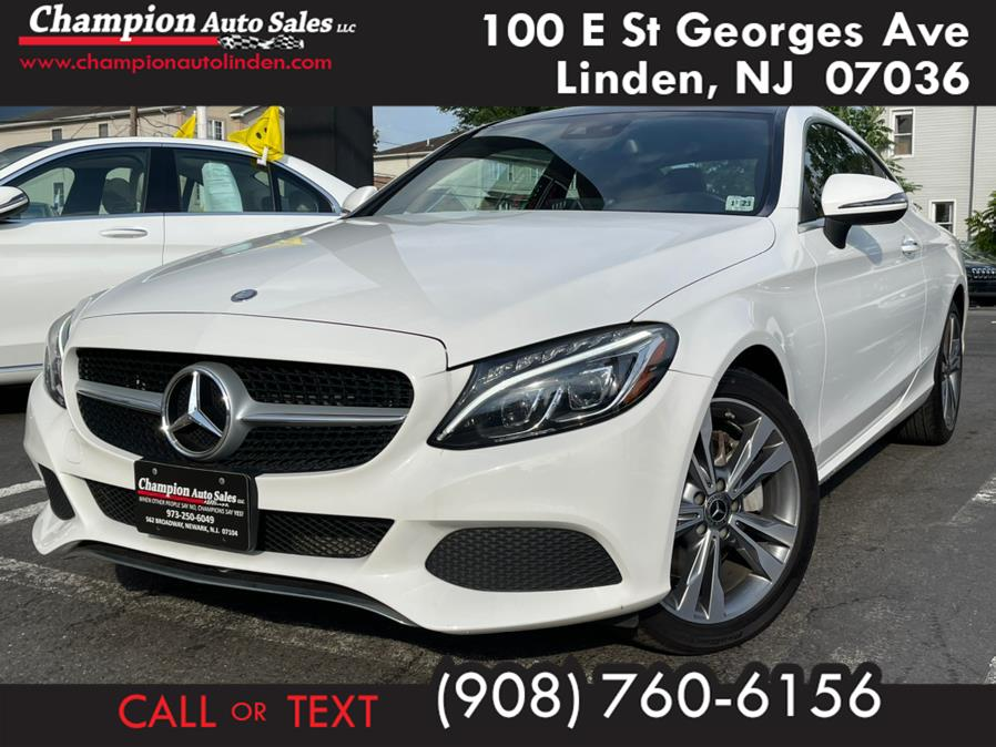 Used 2018 Mercedes-Benz C-Class in Linden, New Jersey | Champion Auto Sales. Linden, New Jersey