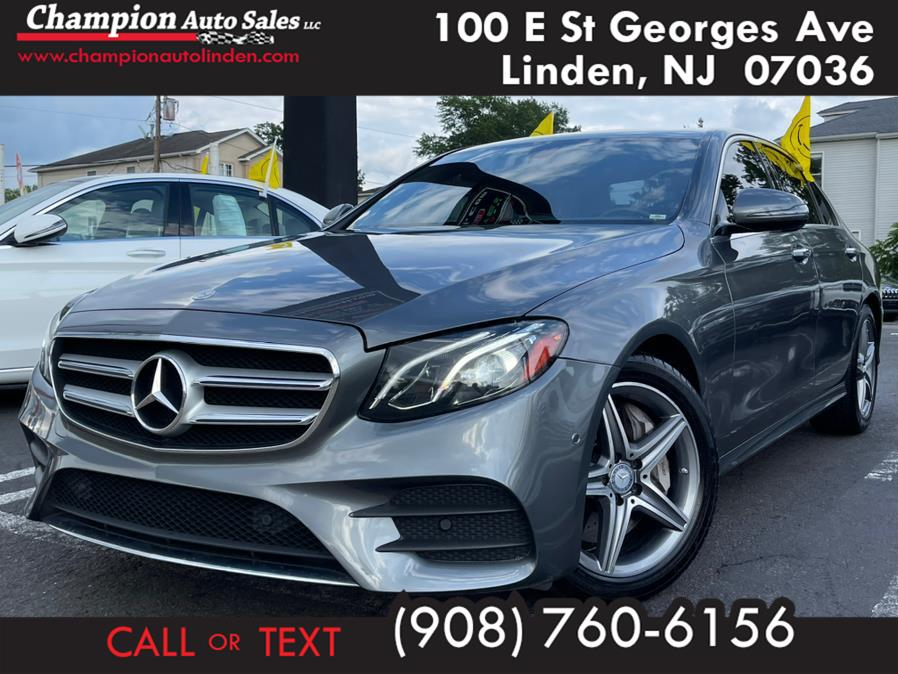 Used 2017 Mercedes-Benz E-Class in Linden, New Jersey | Champion Auto Sales. Linden, New Jersey