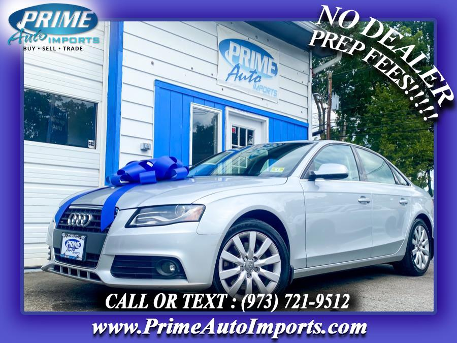 Used 2012 Audi A4 in Bloomingdale, New Jersey | Prime Auto Imports. Bloomingdale, New Jersey