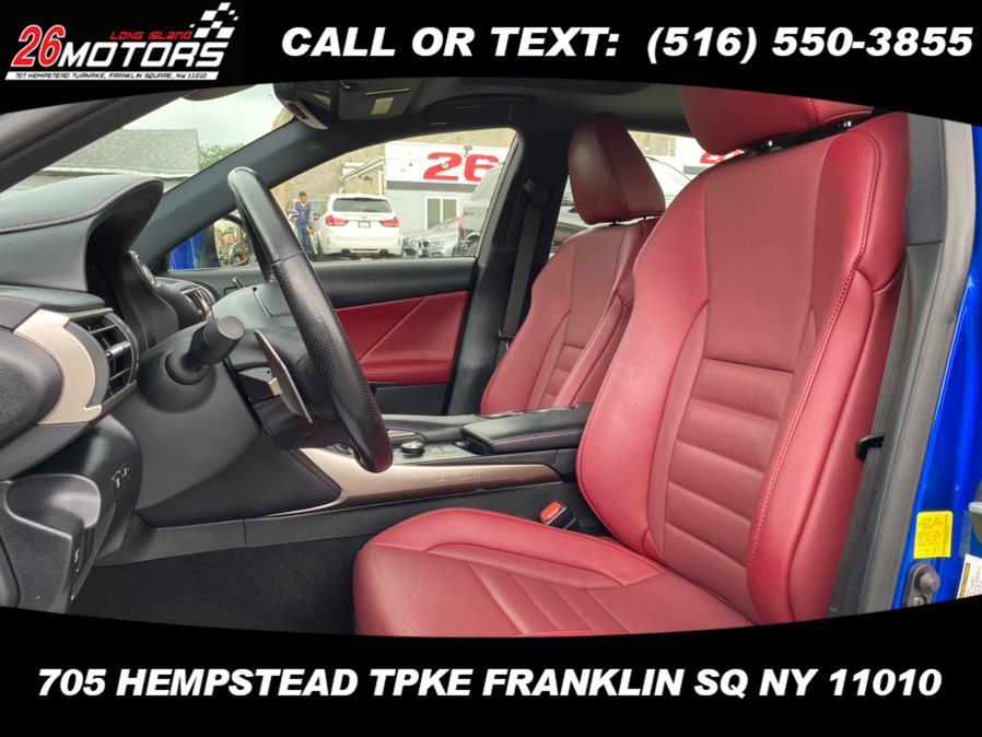 Used Lexus IS F Sport IS 300 F Sport AWD 2018   26 Motors Corp. Bronx, New York
