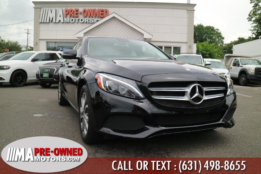Used 2016 Mercedes-Benz C-Class sports 4matic in Huntington, New York | M & A Motors. Huntington, New York