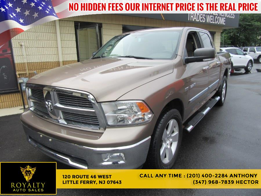 """Used Dodge Ram 1500 4WD Crew Cab 140.5"""" SLT 2010 