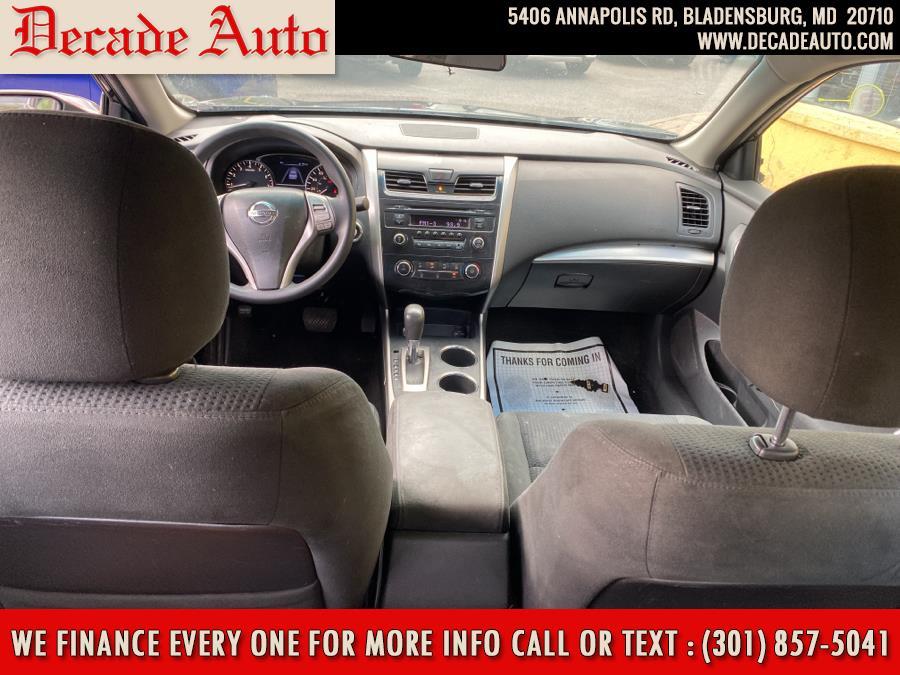 Used Nissan Altima 4dr Sdn I4 2.5 S 2015   Decade Auto. Bladensburg, Maryland