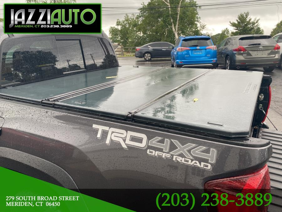 Used Toyota Tacoma TRD Off Road Double Cab 5'' Bed V6 4x4 MT (Natl) 2018 | Jazzi Auto Sales LLC. Meriden, Connecticut