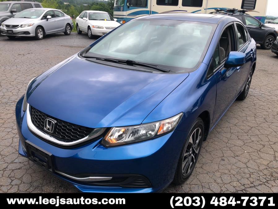 Used 2013 Honda Civic Sdn in North Branford, Connecticut | LeeJ's Auto Sales & Service. North Branford, Connecticut