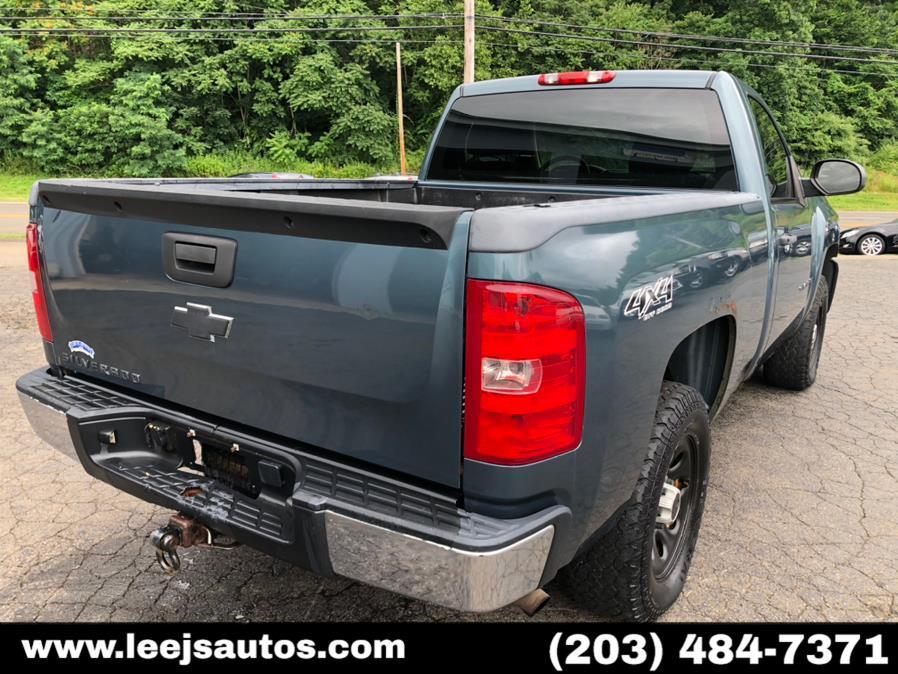 "Used Chevrolet Silverado 1500 4WD Reg Cab 133.0"" Work Truck 2008 | LeeJ's Auto Sales & Service. North Branford, Connecticut"