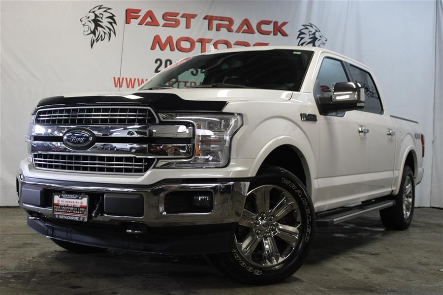 Used Ford F150 LARIAT SUPERCREW 2018 | Fast Track Motors. Paterson, New Jersey