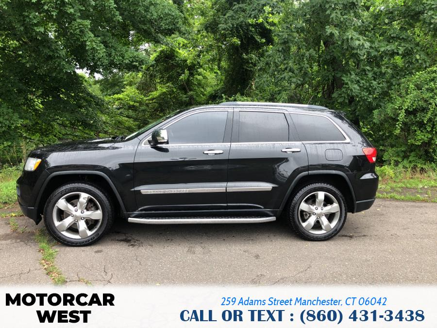 Used Jeep Grand Cherokee 4WD 4dr Overland 2012   Motorcar West. Manchester, Connecticut