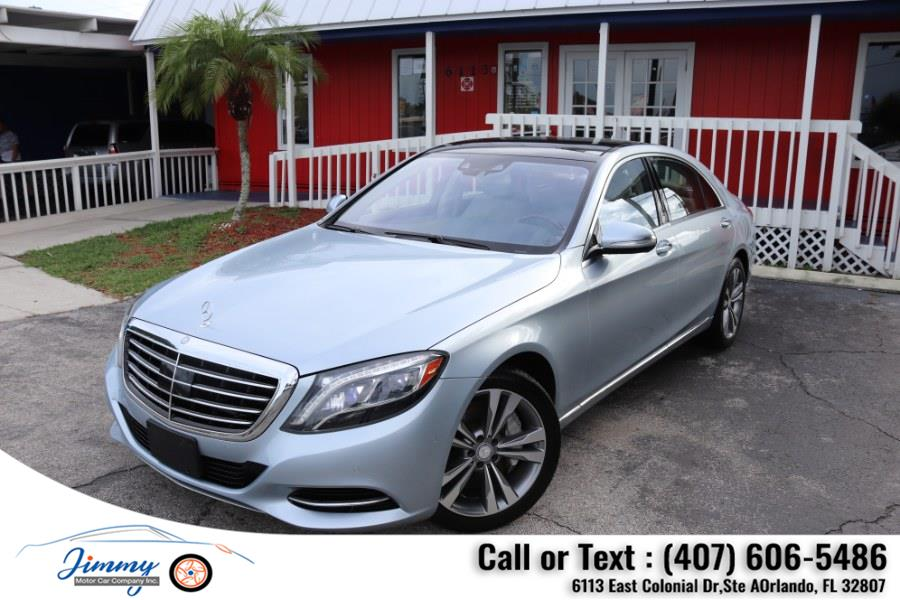 Used Mercedes-Benz S-Class 4dr Sdn S 550 RWD 2014   Jimmy Motor Car Company Inc. Orlando, Florida