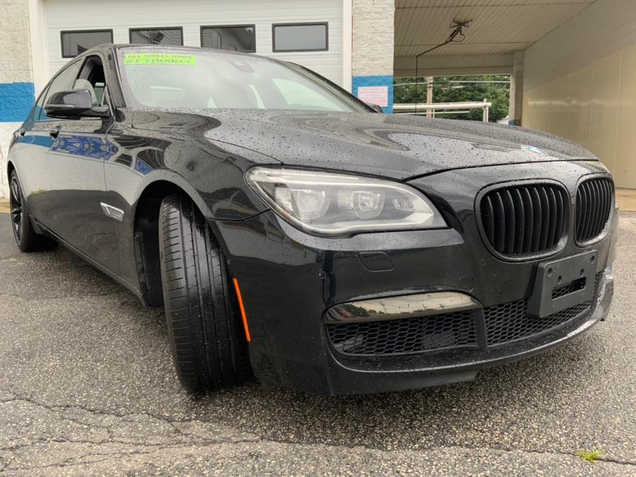 Used BMW 7 Series 4dr Sdn 750Li xDrive AWD 2014 | Capital Lease and Finance. Brockton, Massachusetts