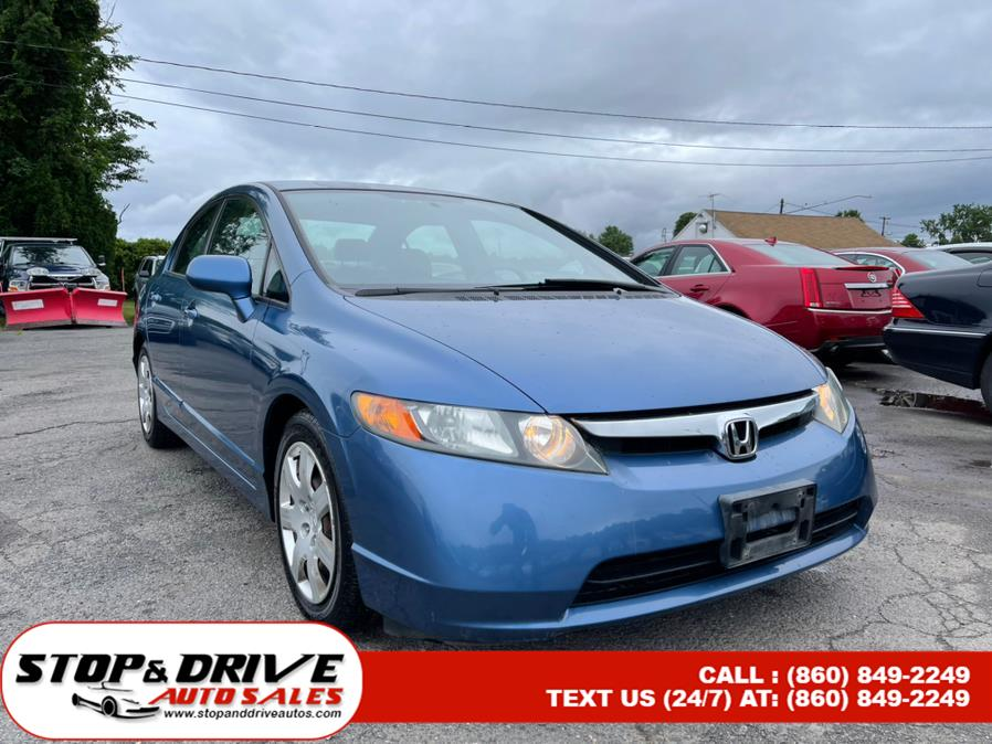 Used Honda Civic Sdn LX MT 2006 | Stop & Drive Auto Sales. East Windsor, Connecticut