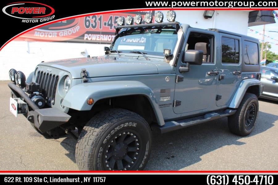 Used Jeep Wrangler Unlimited 4WD 4dr Altitude 2014 | Power Motor Group. Lindenhurst, New York