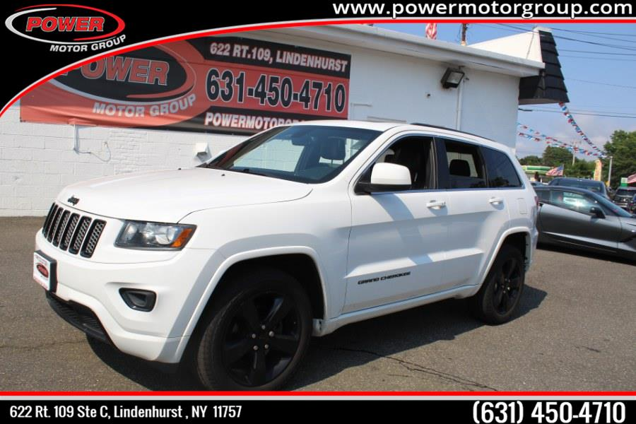 Used Jeep Grand Cherokee 4WD 4dr Altitude 2015   Power Motor Group. Lindenhurst, New York