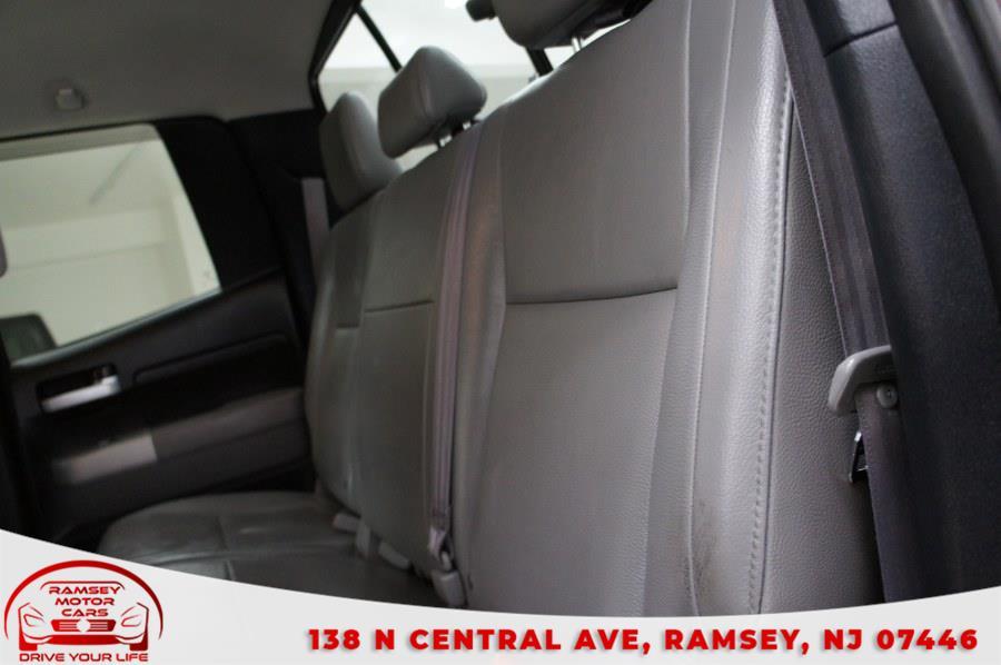 "Used Toyota Tundra 4WD Double 145.7"" 5.7L V8 LTD (Natl 2007 | Ramsey Motor Cars Inc. Ramsey, New Jersey"
