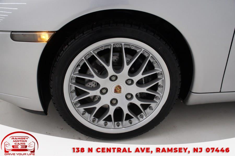 Used Porsche 911 Carrera 2dr Carrera Cabriolet 6-Spd Manual 2000 | Ramsey Motor Cars Inc. Ramsey, New Jersey