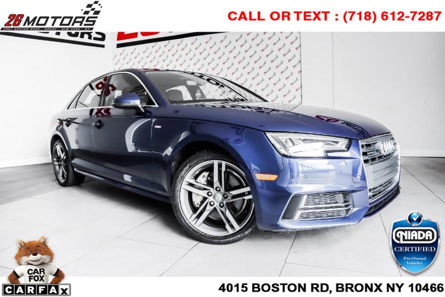Used Audi A4 2.0 TFSI Auto Premium Plus quattro AWD 2017   26 Motors Corp. Bronx, New York