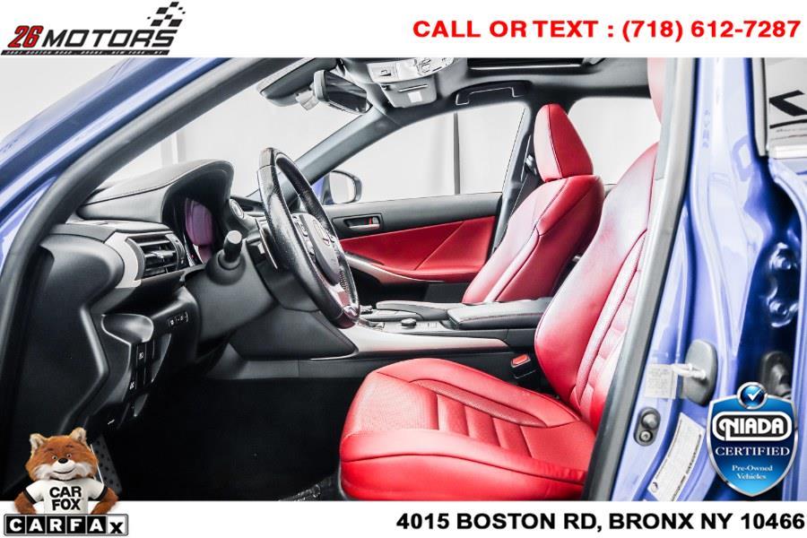 Used Lexus IS IS 350 F Sport AWD 2017 | 26 Motors Corp. Bronx, New York
