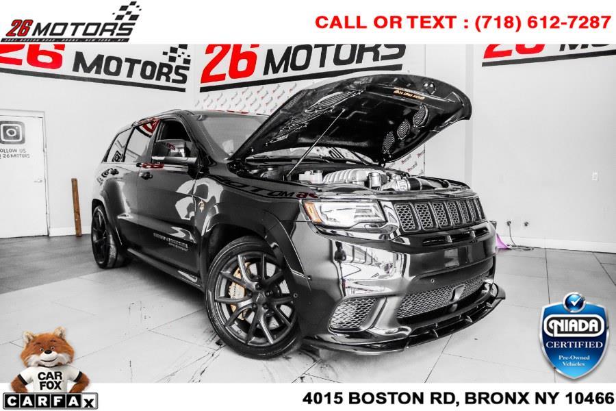 Used Jeep Grand Cherokee Trackhawk 4x4 *Ltd Avail* 2018 | 26 Motors Corp. Bronx, New York