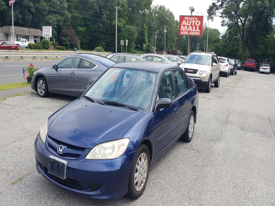 Used 2004 Honda Civic in Chicopee, Massachusetts | Matts Auto Mall LLC. Chicopee, Massachusetts
