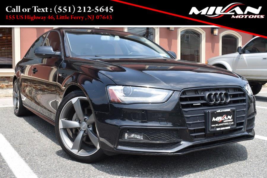 Used Audi A4 4dr Sdn Man quattro 2.0T Premium Plus 2014   Milan Motors. Little Ferry , New Jersey