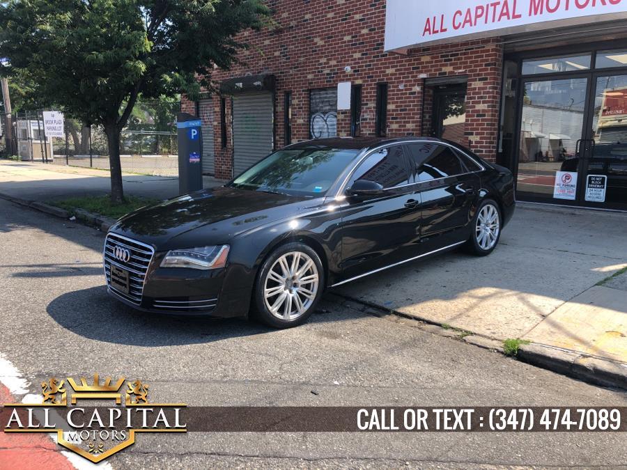 Used 2013 Audi A8 L in Brooklyn, New York | All Capital Motors. Brooklyn, New York