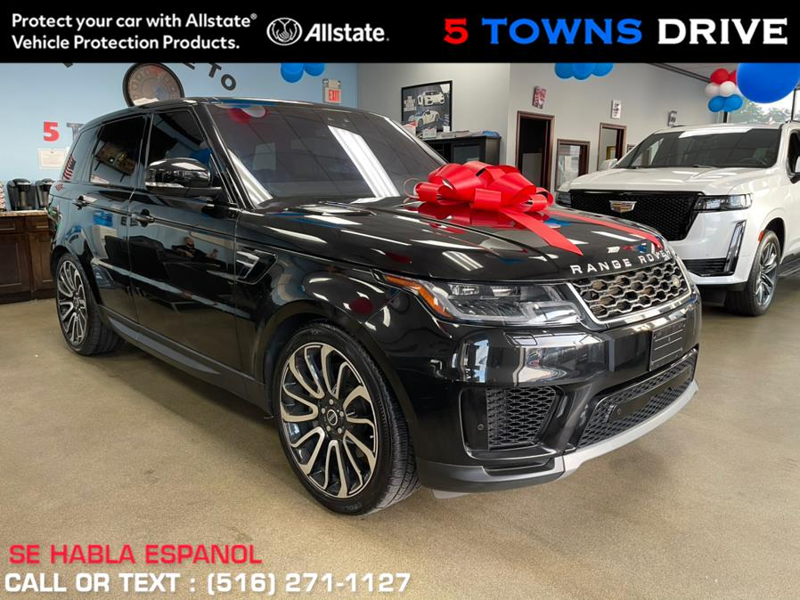 """Used Land Rover Range Rover Sport w/ 22"""" ATB Wheels V6 Supercharged SE 2018   5 Towns Drive. Inwood, New York"""