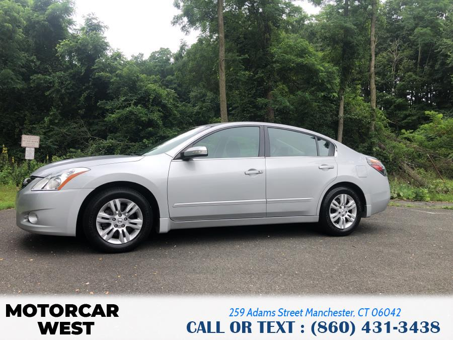 Used Nissan Altima 4dr Sdn I4 CVT 2.5 S 2011   Motorcar West. Manchester, Connecticut