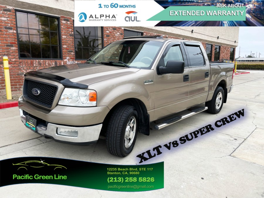 """Used Ford F-150 SuperCrew 139"""" XLT 2004 