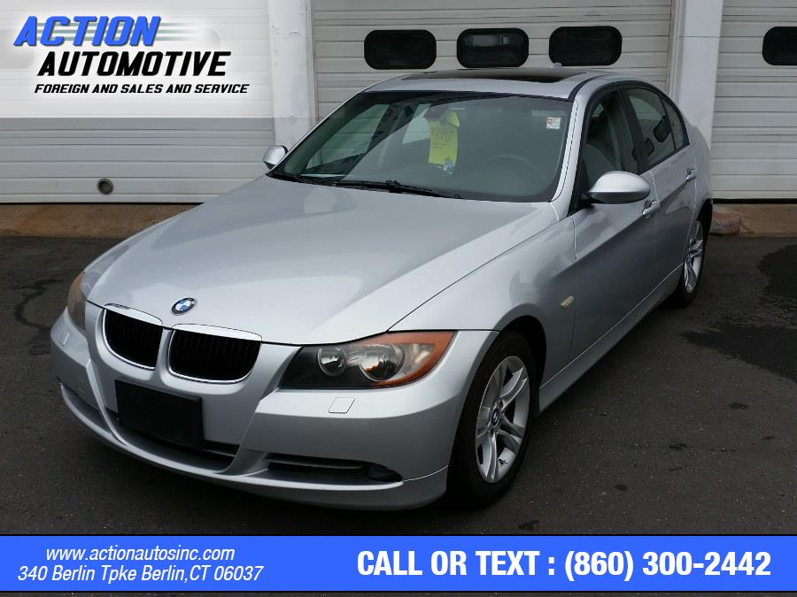 Used BMW 3 Series 4dr Sdn 328xi AWD SULEV 2008   Action Automotive. Berlin, Connecticut