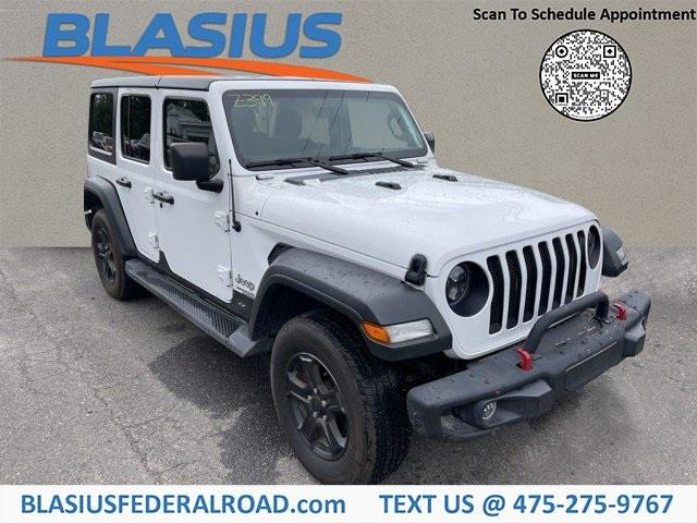 Used Jeep Wrangler Unlimited Sport S 2019   Blasius Federal Road. Brookfield, Connecticut