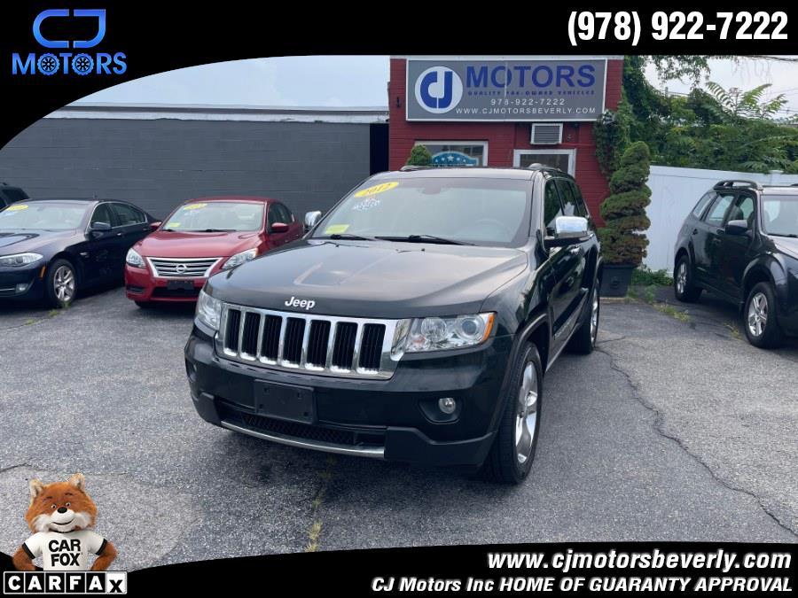 Used Jeep Grand Cherokee 4WD 4dr Limited 2012 | CJ Motors Inc. Beverly, Massachusetts