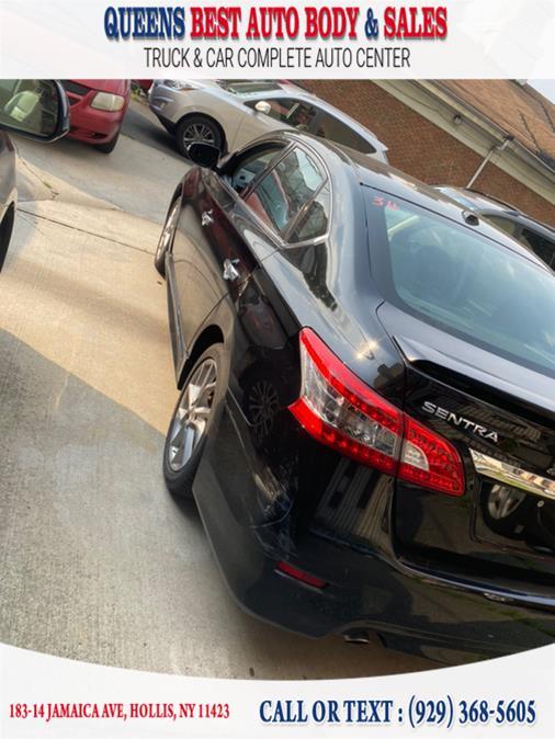 Used Nissan Sentra 4dr Sdn I4 CVT SR 2015   Queens Best Auto Body / Sales. Hollis, New York