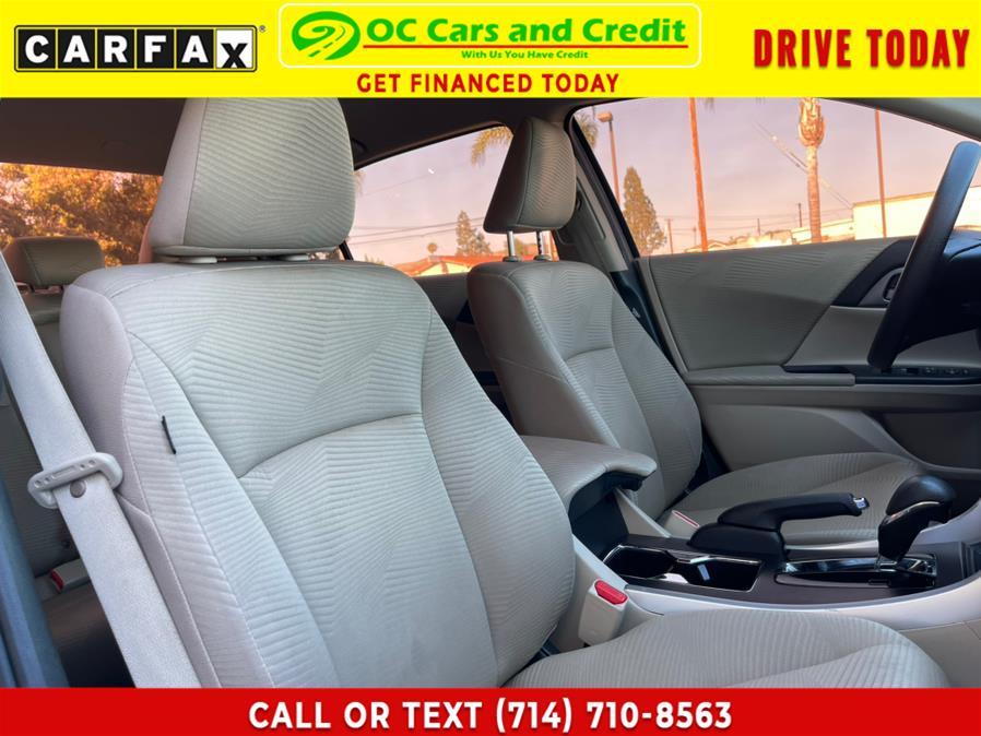 Used Honda Accord Sedan 4dr I4 CVT LX 2015 | OC Cars and Credit. Garden Grove, California