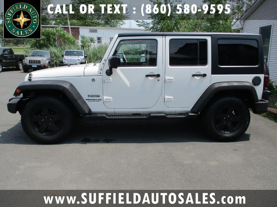 Used 2010 Jeep Wrangler Unlimited in Suffield, Connecticut | Suffield Auto Sales. Suffield, Connecticut