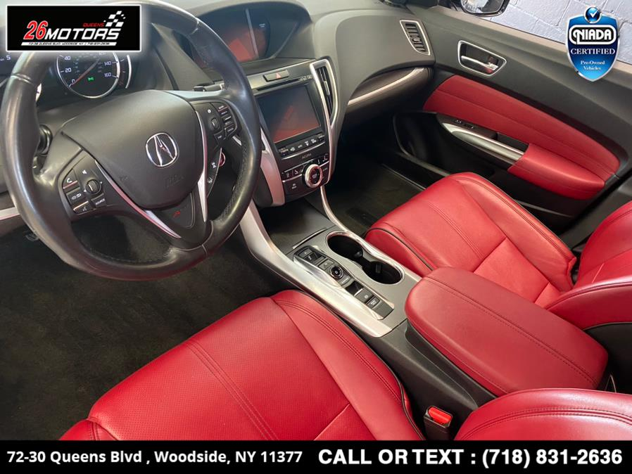 Used Acura TLX 3.5L FWD w/A-SPEC Pkg Red Leather 2018   26 Motors Queens. Woodside, New York