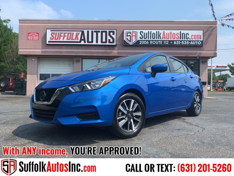 Used 2021 Nissan Versa in Medford, New York | Suffolk Autos Inc. Medford, New York