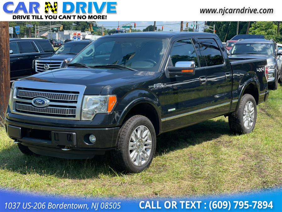 Used Ford F-150 Platinum SuperCrew 5.5-ft. Bed 4WD 2012 | Car N Drive. Bordentown, New Jersey