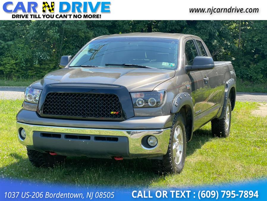 2007 Toyota Tundra SR5 Double Cab 6AT 4WD, available for sale in Bordentown, NJ