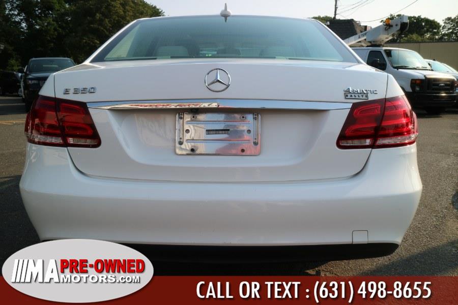 Used Mercedes-Benz E-Class 4dr Sdn E350 Luxury 4MATIC 2015   M & A Motors. Huntington, New York