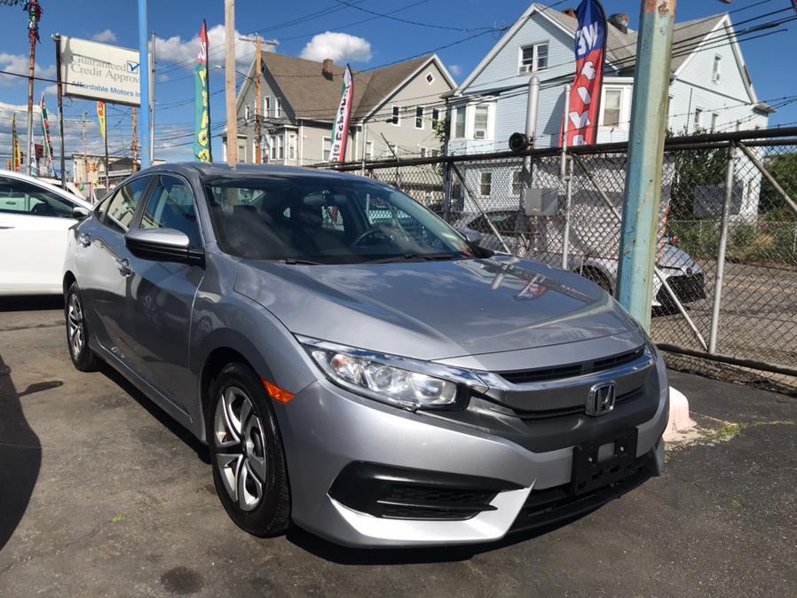 Used Honda Civic Sedan LX CVT 2017 | Affordable Motors Inc. Bridgeport, Connecticut
